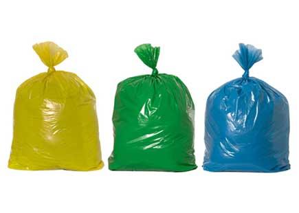Consegna sacchetti differenziati Filadelfia