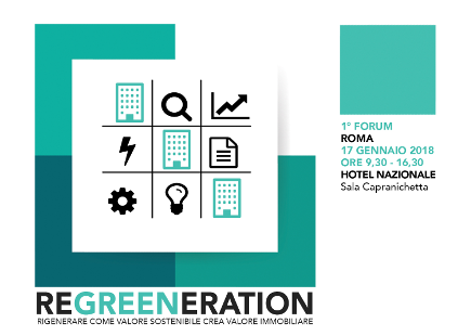 ADICONSUM PARTECIPA AL 1° FORUM REGREENERATION SU EFFICIENZA ENERGETICA NEGLI EDIFICI