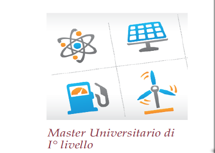 "22 FEBBRAIO: ULTIMO GIORNO PER ISCRIVERSI A MASTER IN ""STRATEGY ENERGY MANAGEMENT SYSTEM"""